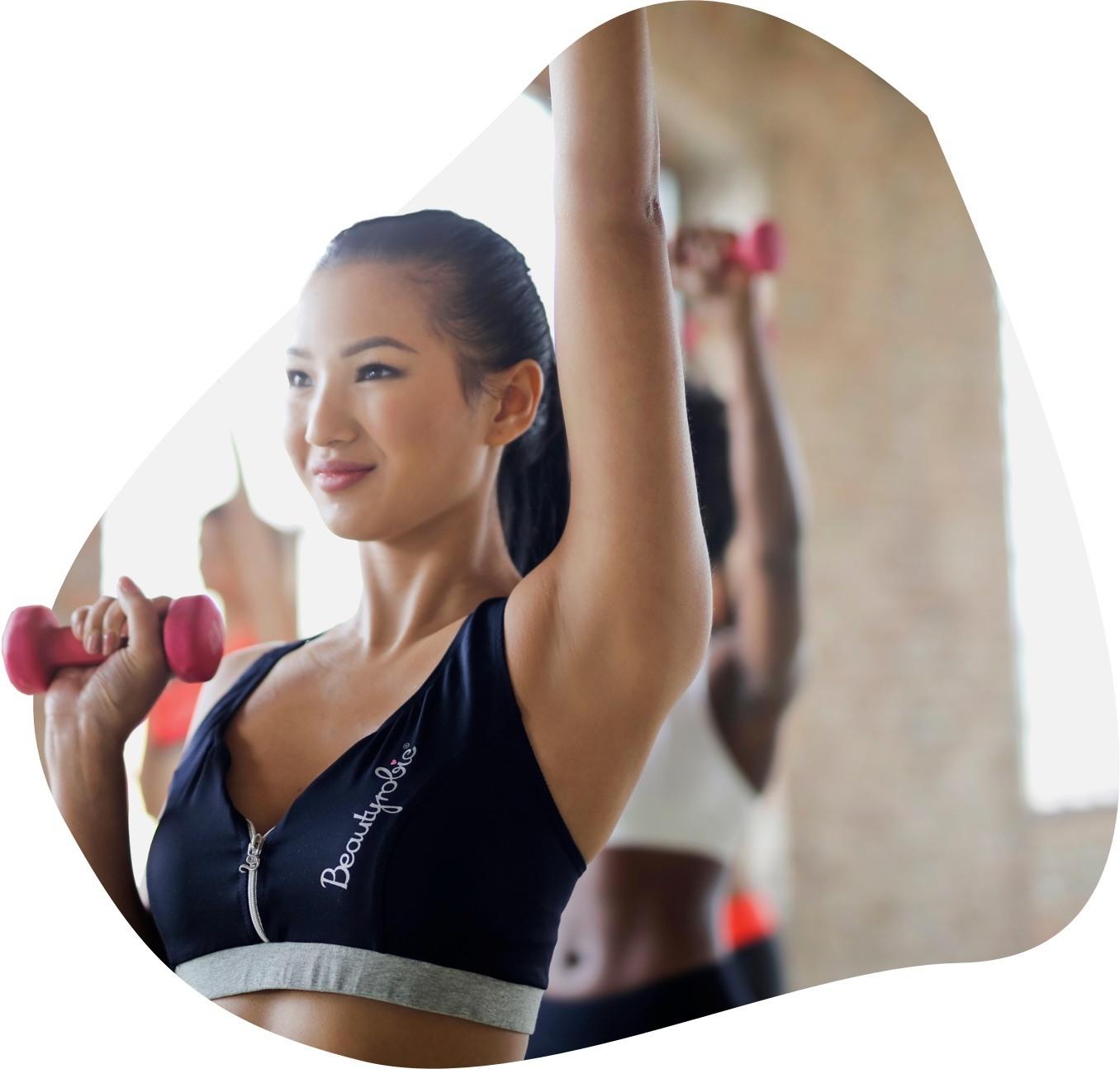 Fitness Studio Software Illustration